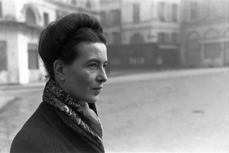 法國存在主義作家與女權運動先驅-