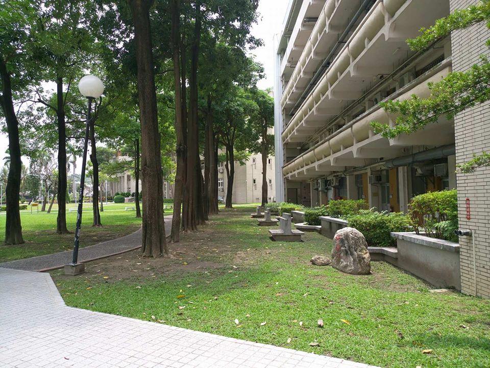理學院前閒置空地。Photo credit: 楊承澤