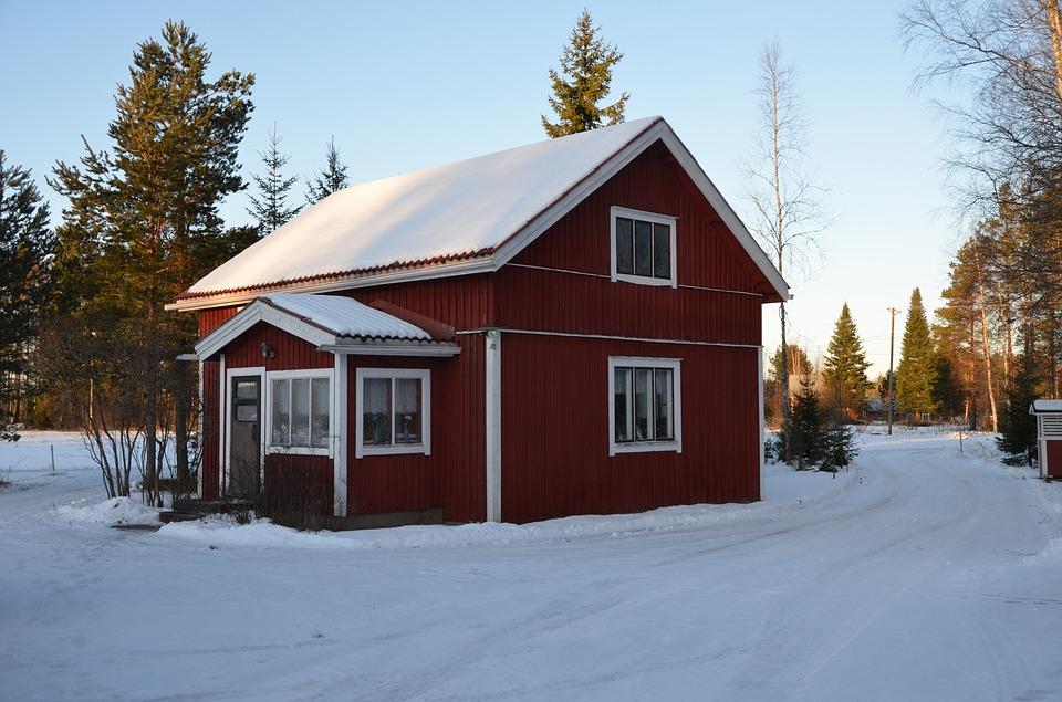 snow_小木屋